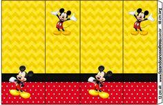 Rótulo Nescauzinho Mickey:
