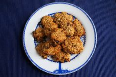 Peanut Butter Oat and Raisin Cookies
