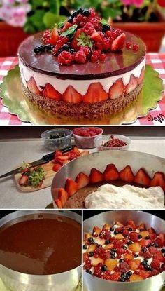 tartas-de-cumpleaños-frambuesas-chocolate-crema-vanilla-tarta-fácil