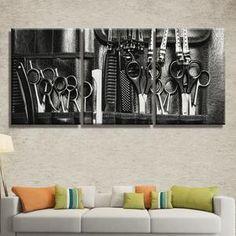 Hairstylist Multi Panel Canvas Wall Art