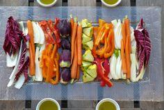 Pinzimonio | Fresh #Vegetables with #Olive Oil, Toscana