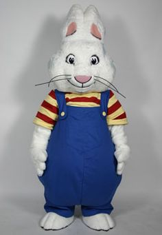 Max (Rosemary Wells) Character Costume is provided free of charge by the publishers for promotional use only at schools, libraries and bookstores. The only cost to you is second-day air shipping arranged by Costume Specialists to send the costume to its next event.