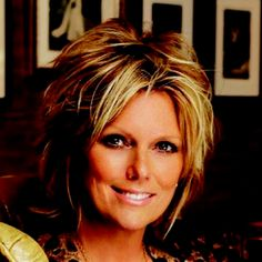 Patti Hansen- I love her cut and color!