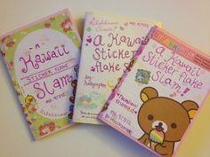 (My first) Kawaii Sticker Flake Slam!