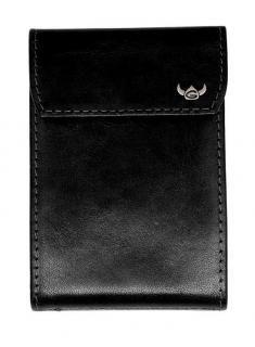 Kartenetui Golden Head Colorado Voll-Rindleder schwarz - Bags & more Colorado, Rind, Wallet, Bags, Leather, Black, Pocket Wallet, Handbags, Aspen Colorado