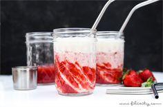 Ein einfaches Rezept zum Nachmixen: Der hawaiianische Cocktail Lava Flow ist der perfekte tropische Drink
