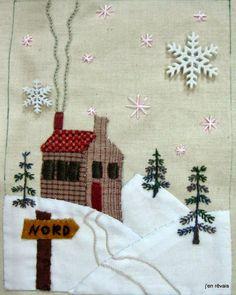 livre de Noël p 1 (modèle Scrap, Quilt and Stitch)
