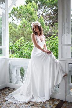Marie Laporte - Robes de mariée - Collection 2016 - Paris | Modèle: Suzanne | Crédits: Marie Laporte | Donne-moi ta main - Blog mariage