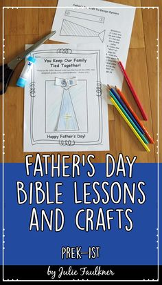 This set of four Father's Day-Themed Bible Lessons is perfect for kids' church, Sunday School, home school, Christian schools, and more. This no-prep themed teaching pack will show children - through the use of Bible stories and Bible characters - that our heavenly father loves and cares for us! This pack will teach children through June about Godly father figures in the Bible. The coloring pages, crafts, and activities are kid-friendly with a touch of springy fun!