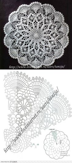 crochet lace ...♥ Deniz ♥                                                                                                                                                      More