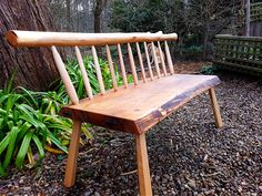 More recently I have broadened my interests and now create own style of greenwood furniture as well as traditionally crafted wooden household utensils Bench Seat, Creative People, Outdoor Furniture, Outdoor Decor, Household, Woodworking, Tools, Create, Artist