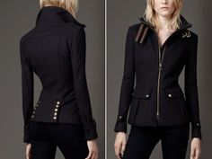 The Fast & Furriest Miltary jacket | Dress like Kate Beckett