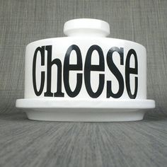 70s Cheese dome by TG Green ceramic cheese dish serving