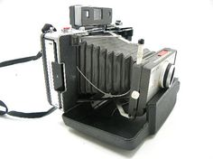 Polaroid 101 Bellows Land Camera with Manual by ChaseyblueVintage