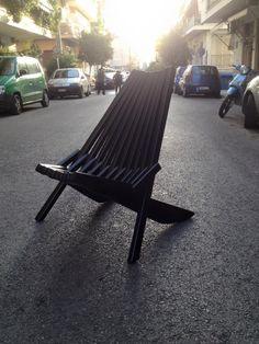 Sticks folding seat