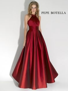 Red Long Evening Dresses, Prom Dresses Style Nº 1026 Long Red Evening Dress, Formal Evening Dresses, Evening Gowns, Evening Party, Dress Long, A Line Prom Dresses, Cheap Prom Dresses, Satin Dresses, Satin Gown