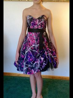 Muddy Girl Camo Dress by CamoGownsAndMore on Etsy