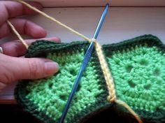 free crochet turtle shell pattern