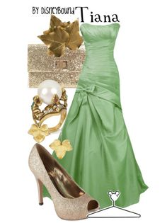 Tiana inspired outfit