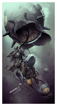 002 stunning illustrations derekstenning Stunning Illustrations by Derek Stenning