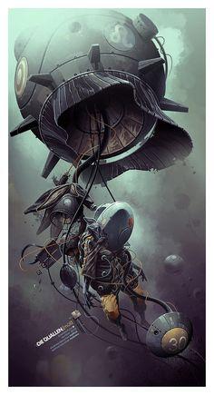002 stunning illustrations derekstenning Stunning Illustrations by DerekStenning
