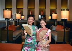 她們是對來自盧森堡的可愛母女❤️透過復古更加感受到濃厚的歷史氛圍! A mother and daughter's special #qipao experience 👩👧#旗袍 #silksplacetainan #台南晶英酒店 #tainan #traditionaldress #taiwantravel #luxury #hotel #memorable #pictureoftheday #instadaily #instagood #instapic