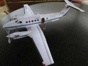 This aircraft paper model is a Beechcraft King Air aa variant of the Beechcraft King Air family, the papercraft is created by Rudolf Heger, and the s Paper Airplane Models, Model Airplanes, Paper Models, Paper Planes, Ribbon Cards, Paper Ribbon, Spiderman Craft, Papercraft Download, Mockup