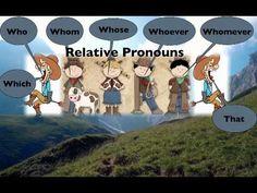 Essentials class wk. 3: Relative Pronouns Song More 4th Grade Ela, Teaching 5th Grade, 4th Grade Writing, 4th Grade Reading, Sixth Grade, Teaching Latin, Teaching Grammar, Teaching Reading, Teaching Ideas