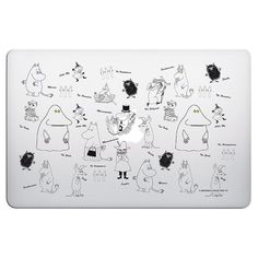 131b20779eb Moomin glutinous rice genuine license -  depicted moomin  (transparent) -  MacbookPro   Air13 吋. Pinkoi - a lifestyle with good designs