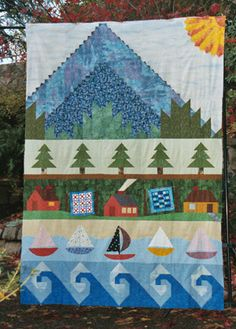 row quilt My Sister Mary's favorite.