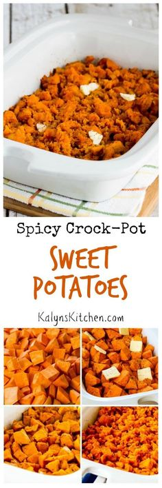 on Pinterest | Stuffing, Slow cooker sweet potatoes and Crockpot