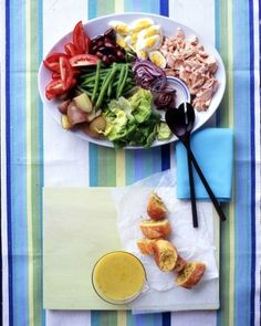 """See the """"Salmon Nicoise Salad"""" in our  gallery"""