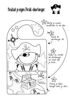 Gratis te downloaden om zelf te printen en maken. Je vindt deze grappige kleurplaat bij Heidysign.nl Diy For Kids, Crafts For Kids, Preschool Craft Activities, Ocean Themes, Creative Kids, Coloring Pages, Doodles, Snoopy, Birthday
