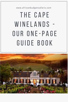 The Cape Winelands, listed as one of the top 10 Best Value Places to Visit in 2020 By Lonely Planet. Link in Bio. The Cape is home to one of the most spectacular wine regions in the world. Here you will find international award-winning wines at ridiculously low prices and world-class restaurants. Factor South Africa's favourable exchange rate into the equation and you get a very appealing destination indeed for budget travellers.