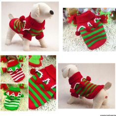 Cheap warm dog clothes, Buy Quality sweaters for dogs directly from China winter sweater for dogs Suppliers: Meetcute Warm Dog Clothes Puppy Pet Cat Jacket Coat Winter Fashion Soft Sweater Clothing For Small Dogs New Dog Sweaters, Winter Sweaters, Animal Sweater, Pet Dogs, Pets, Warm Outfits, Winter Coat, Small Dogs, Christmas Stockings