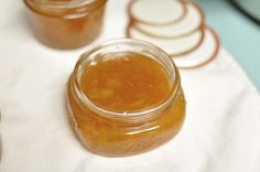 """Grapefruit Jam>> """"all the citrus-y goodness of marmalade without all the chopping"""". Saw this on """"Food In Jars"""" blog."""