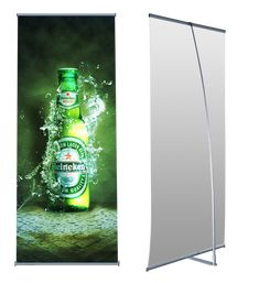 FULLY PORTABLE BANNER STANDS FOR EVENT DISPLAY. Easy to carry and transport, and a breeze to setup. Retractable banner stands. Shop custom printed trade show retractable pull up and roll up display banner stands for sale. Printed Logo graphic banner stands. #banner #stands #bannerstand #retractablebannerstands #rollupbannerstands #popupbannerstands #telescopicbannerstand