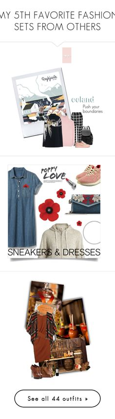 """""""MY 5TH FAVORITE FASHION SETS FROM OTHERS"""" by dawn-lindenberg ❤ liked on Polyvore featuring Witchery, Topshop, Giuseppe Zanotti, Tomas Maier, Barbara Bui, Asics, Champion, Gap, Alexander McQueen and Burberry"""