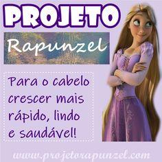 Aprenda como fazer o #projetorapunzel para o seu cabelo crescer mais rápido, lindo e saudável! (GUIA COMPLETO)