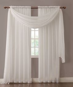 - Quality Made, Affordably Priced - Both scarf and curtain sheers are made from high-quality, long-lasting polyester and cost half of what you pay for similar products in the Big Department Stores. Wa
