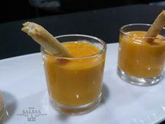 Entre salsas y guisos: Salmorejo de mango (Taller Party food)