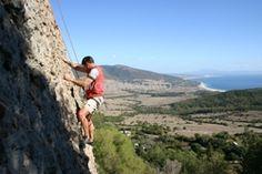 Learn Spanish and rock climb in southern spain. www.lajanda.org