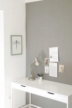 Schreibtisch Ikea Alex Weiß Arbeitsplatz Arbeitszimmer Einrichten Wohnen  Dekorieren Skandinavisch Modern Minimalistisch Schlicht Reduziert Monochrom  Graue