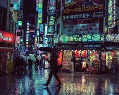Luzes e cores da noite de Tóquio no olhar de Liam Wong