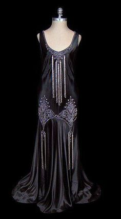 1920 evening gown