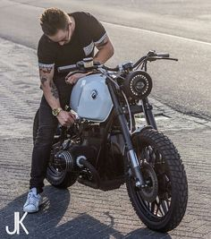 3Hƒ0® | #Jbiker | #BMW custom cafe racer