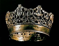 QUEEN ISABELLA OF SPAIN'S CROWN (KATHERINE OF ARAGON'S MOTHER)