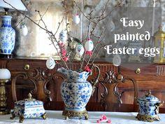 DIY Πώς να ζωγραφίσεις εύκολα Πασχαλινά αυγά - Guest Post | despina's studio | Bloglovin'