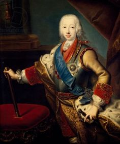 Peter III Fedorovitch (Karl Peter Ulrich) Galerie nationale Tretiakov, George Christopher Groth