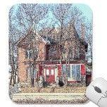 Mousepad of Saginaw's Cat Lady's House